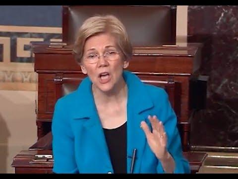 Elizabeth Warren's HEARTFELT Speech Against Trump's Budget