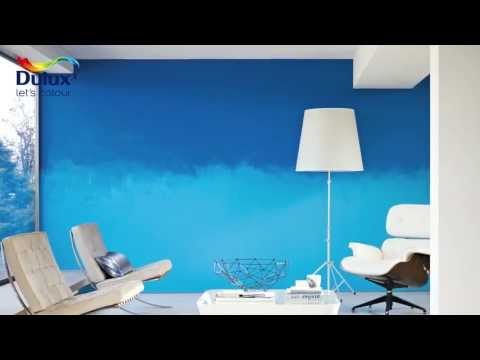 How to create the ombre effect - Dulux