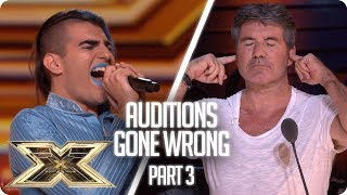 When Auditions Went Wrong in 2018 - Part 3 | The X Factor UK 2018