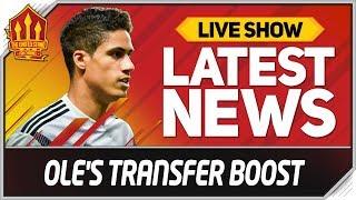 Solskjaer's Man Utd Transfer Boost! Man Utd News
