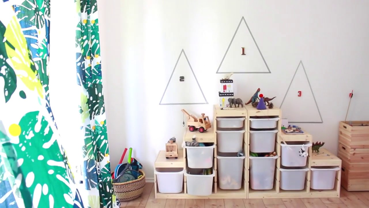 Idées déco : relooking d\'une chambre d\'enfants partagée