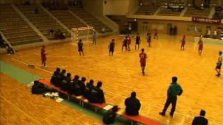ハンドボール選抜全国大会1回戦_国府vs横浜延長