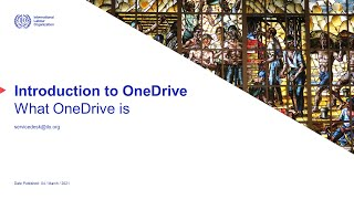 OneDrive introduction