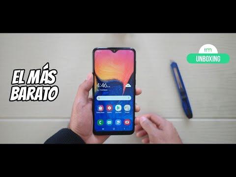 Samsung Galaxy A10   Unboxing en español