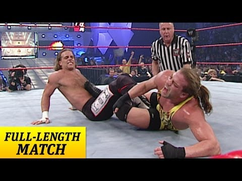 FULLLENGTH MATCH  Raw  Shawn Michaels vs RVD  World Heavyweight Championship Match