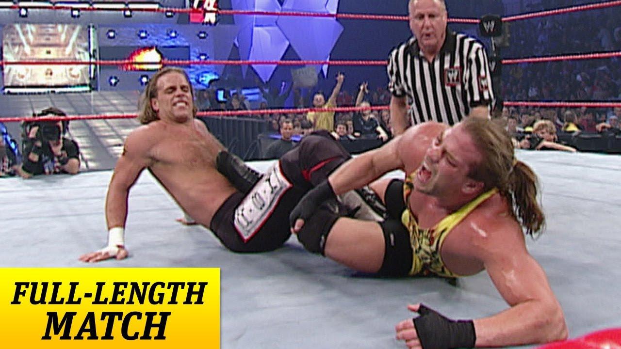 Fulllength Match  Raw  Shawn Michaels Vs Rvd World