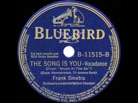 1942 version: Frank Sinatra - The Song Is You mp3