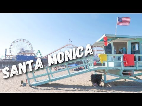 A DAY AT SANTA MONICA PIER 🎡🎢⛱