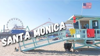 A DAY AT SANTA MONICA PIER 🎡🎢⛱