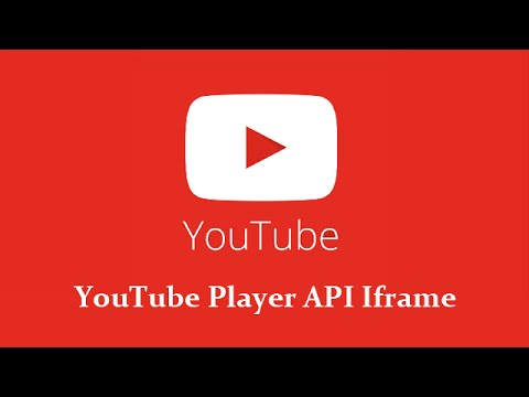 YouTube Javascript Player API : créer un player customisé !
