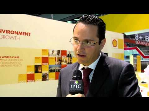 Wael Sawan, QATAR SHELL spoke to Eithne Treanor at IPTC in Doha 2014