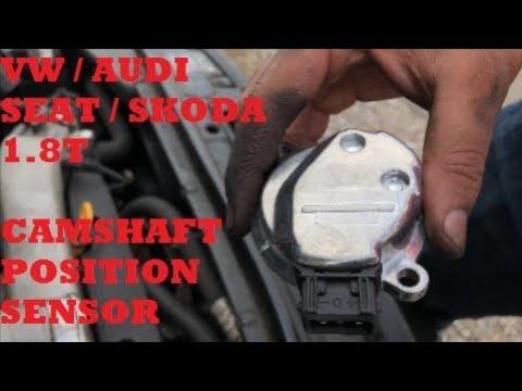 [DIAGRAM_38EU]  1.8T Camshaft Position Sensor Change - VW / Audi / Seat / Skoda - YouTube | Vw Beetlecamshaftwiring |  | YouTube