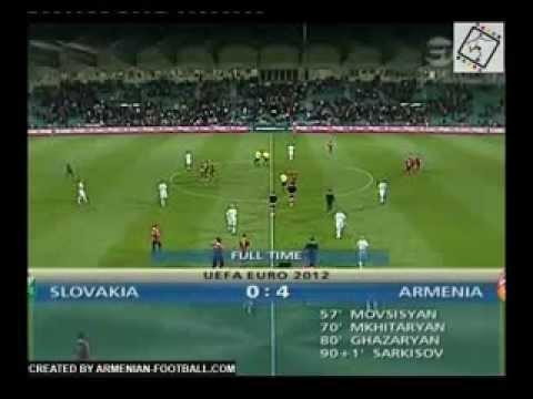 Slovakia - Armenia 0:4, Qualifiers 2012