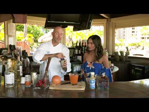 Behind the Bar at Westin Maui Resort & Spa | Maui's Best Cocktails