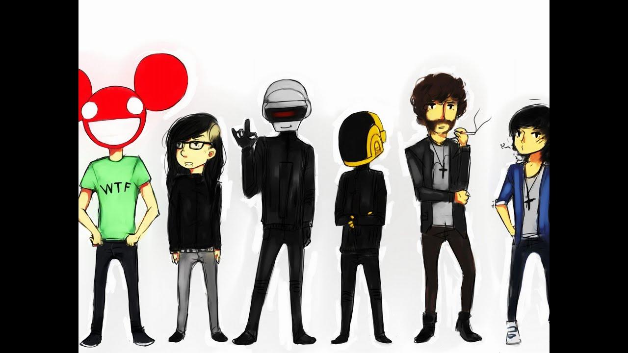 Skrillex And Deadmau5 And Daft Punk | www.pixshark.com ...