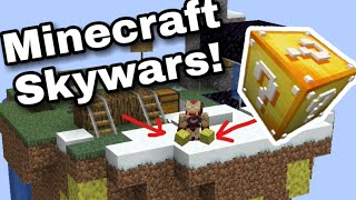 Skywars Luck/solo (stupid fails)