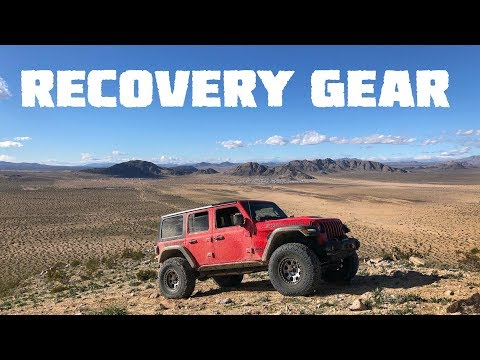 Proper RECOVERY GEAR! Our Jeep Wrangler JLU Rubicon Is Finally Outfitted!