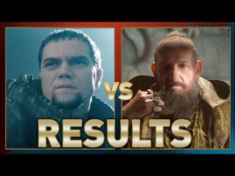 General Zod vs The Mandarin: Fanboy Faceoff Results