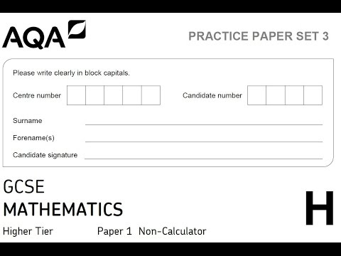 PGSMaths AQA Practice 1H Q20 (Indices) - YouTube