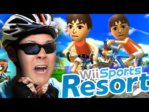 YOU CAN GO CYCLING ON THE Wii 🚴🚴🚴 (Wii Sports Resort) #2