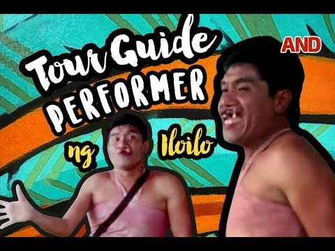 Tour guide performer ng Iloilo