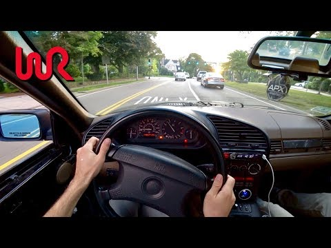 Big TURBO 1995 BMW 325i – Tedward POV Test Drive (Binaural Audio)