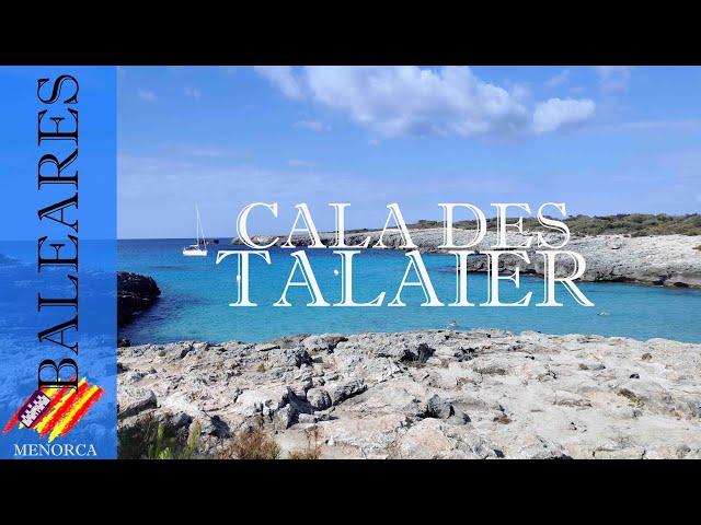 Es Talaier una cala de aguas turquesa | Menorca #1