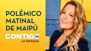 Cathy Barriga se llena de críticas por matinal en Maipú - Contigo en La Mañana
