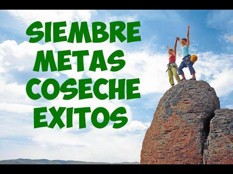 SIEMBRE METAS COSECHE EXITOS