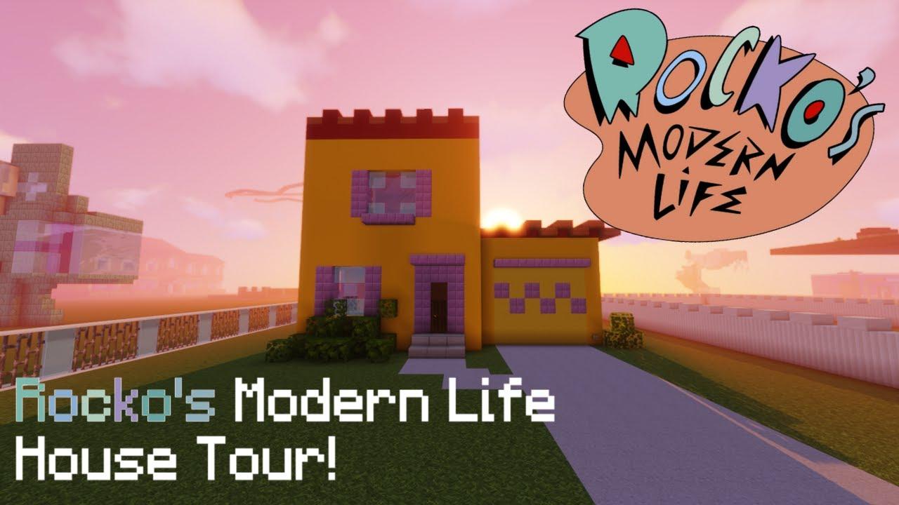 Minecraft: Rocko's Modern Life House!