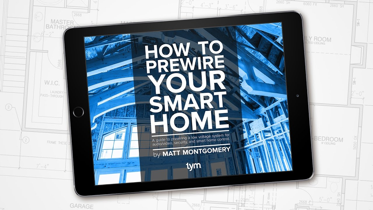 How To Prewire Audio/Video, And Smart Home Technology - YouTube