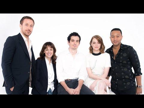 Ryan Gosling and Emma Stone on 'La La Land' at TIFF