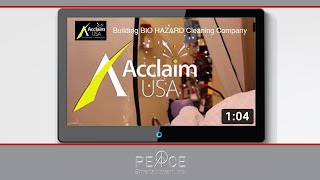 Building BIO HAZARD Cleaning Company - Acclaim USA Branding Videos