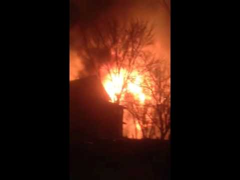 House fire in Manitoba