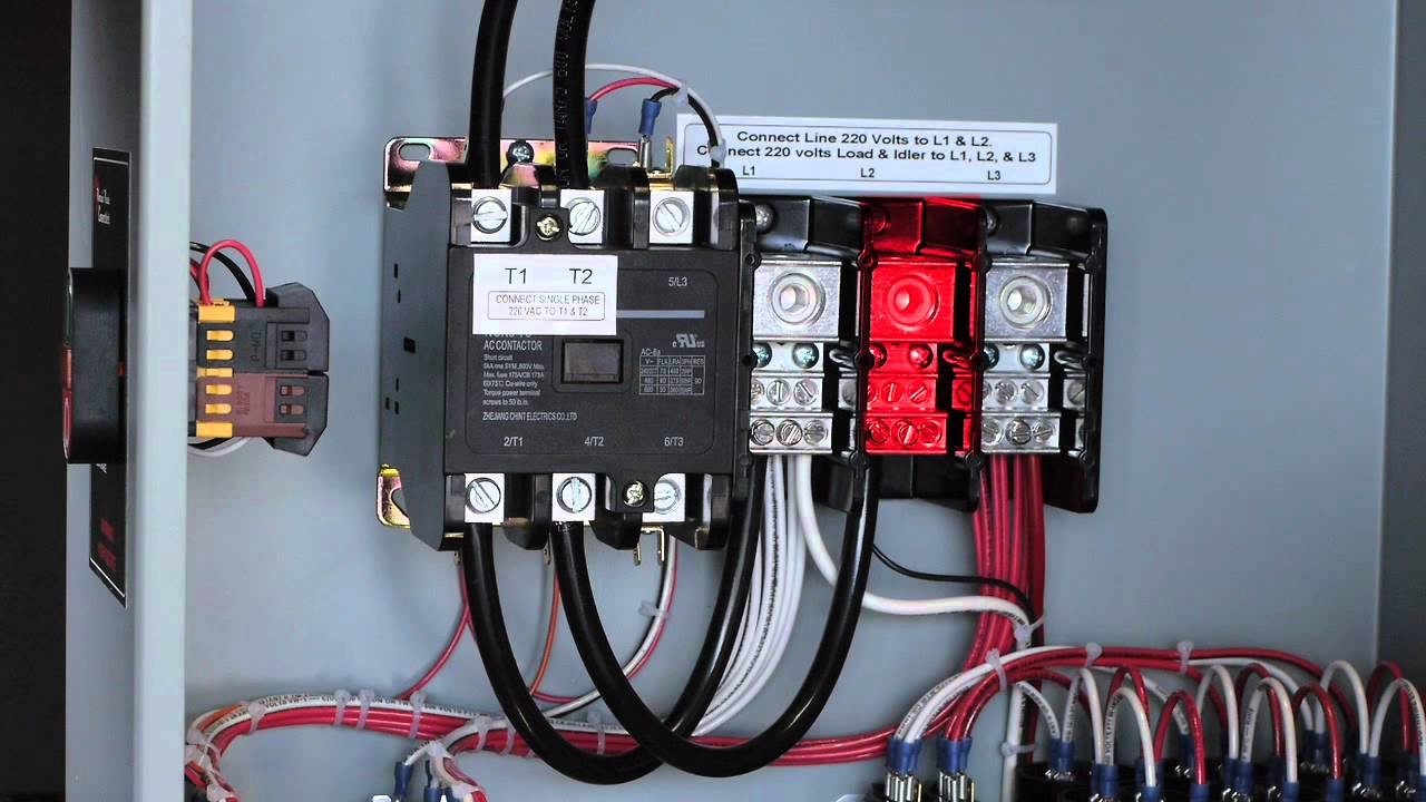 small resolution of phoenix phase converter installation video push button models