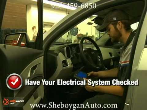Chevrolet Electrical System Wiring Repair Service Manitowoc Fond du Lac Sheboygan WI