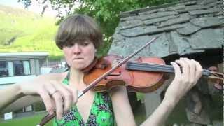 hardanger musikkfest oslo strykekvartett spiller grieg foran grieg hytta på lofthus