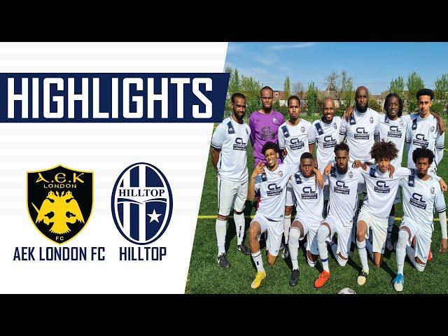 PLAYING FOOTBALL THE RIGHT WAY VS AEK LONDON FC