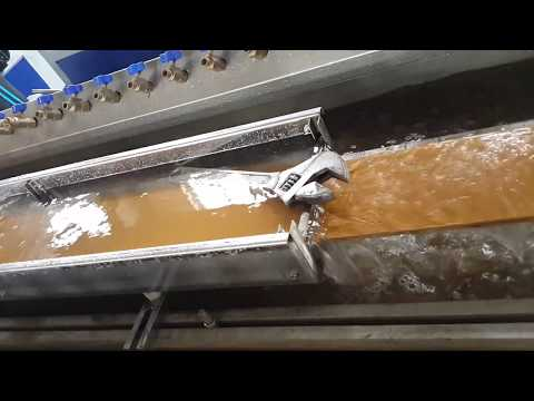 Wood Plastic WPC decking machine made from recycled plastic and wood waste