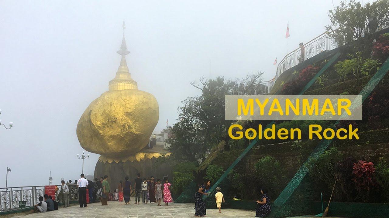 Du lịch Myanmar khám khá Golden Rock Pagoda ngôi chùa Hòn Đá Vàng linh thiêng ở Bago Mianmar  ZaiTri