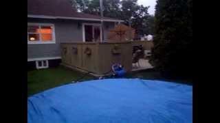 Pool heater / millwright