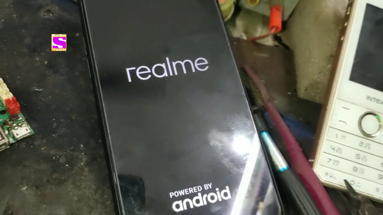 Realme C1 rmx1811 Phone Storage damaged please Download a ...