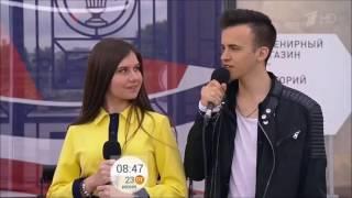 """Ивайло Филиппов- 1 Канал- Программа """"Доброе утро"""" 23.06.2017г"""