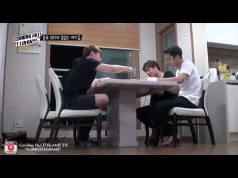 [HD] Coming Out FTISLAND EP.3 - JongHoon Cooking dinner for Members
