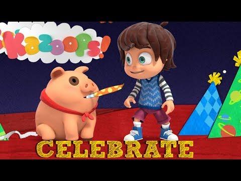 Kazoops! | Celebrate Song (Karaoke Song)
