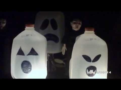 Decoraciones para Halloween/Dia de Los Muertos caseras ...