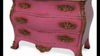 Old Antique French Faux Painted Furniture Texas Dallas Austin