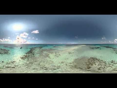 Vlasoff Cay in 360°   Great Barrier Reef, Queensland, Australia