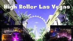 High Roller Las Vegas - das größte Riesenrad der Welt bei Nacht