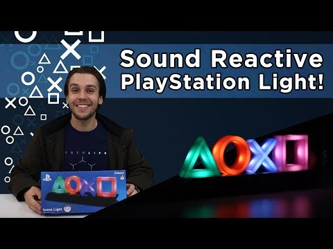 Sony - PlayStation Icons Decorative Light - Video